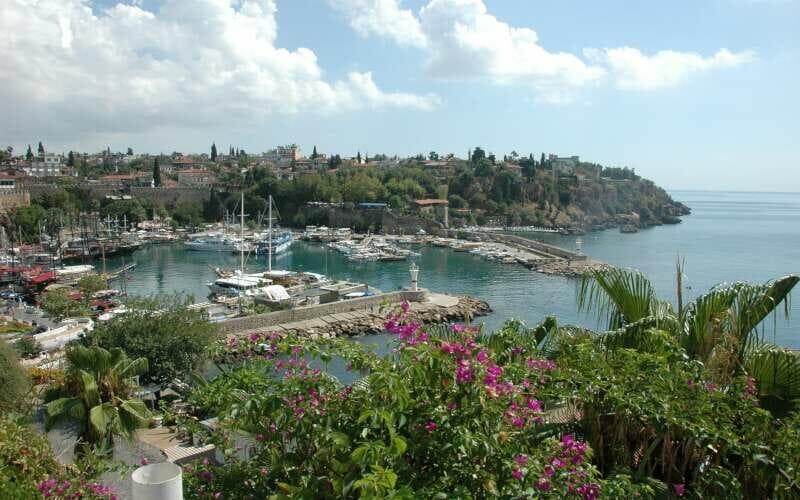 Antalya Aussicht auf den Hafen