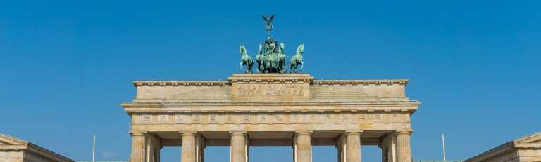Klassenfahrt Berlin Quadriga Brandenburger Tor