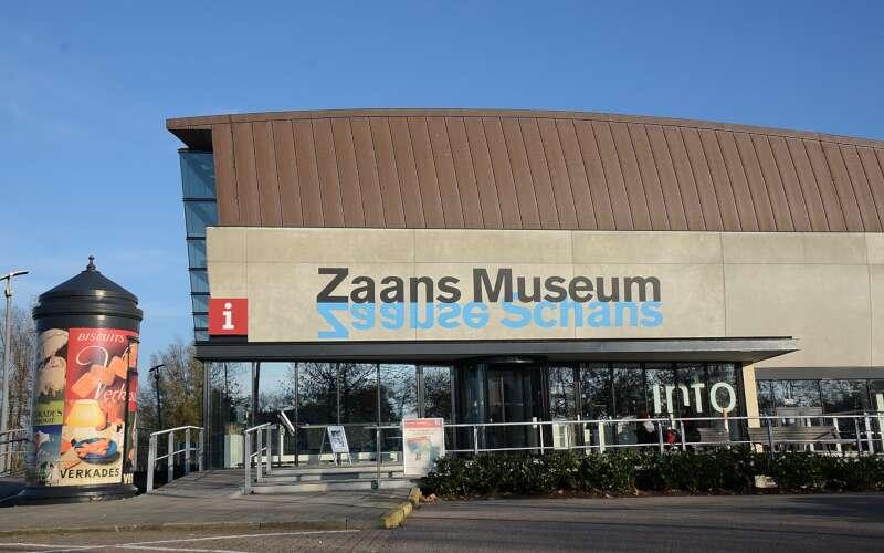 Eingang Zaansmuseum