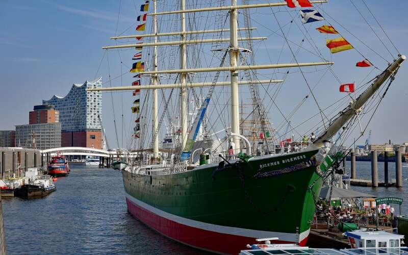 Museumsschiff Rickmer