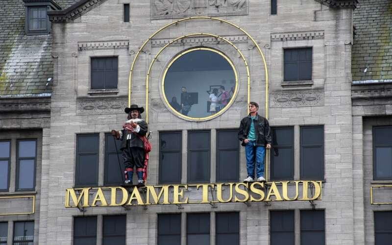 Hausansicht Madame Tussauds