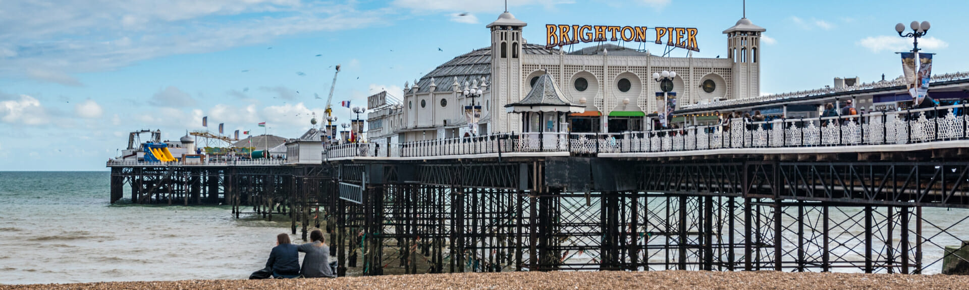 Klassenfahrt Brighton Pier