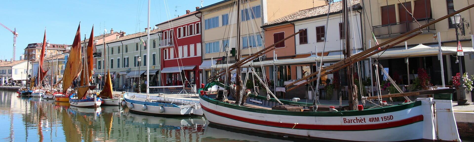 Klassenfahrt Emiglia Romagna Hafen