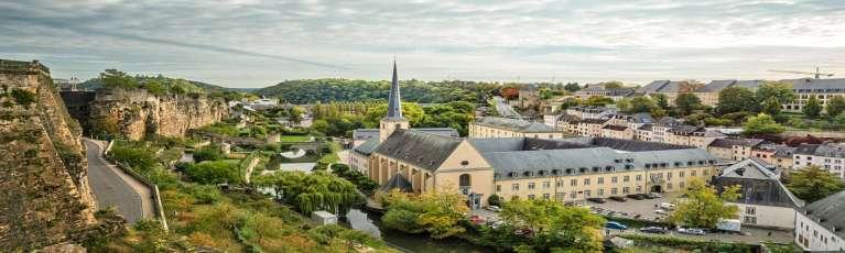 Klassenfahrt Luxemburg Abtei Neumünster