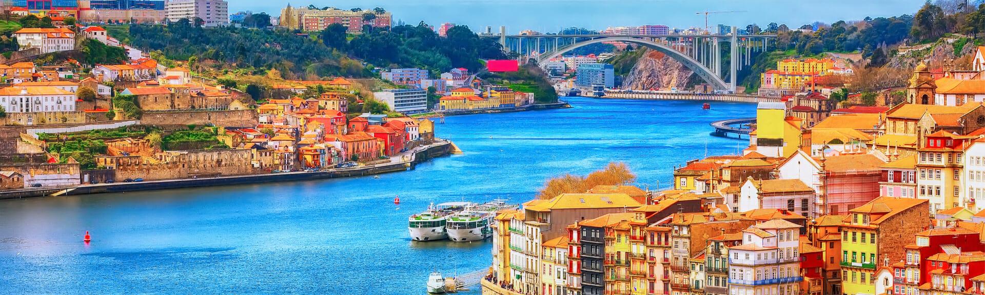 Klassenfahrt Porto Stadtansicht