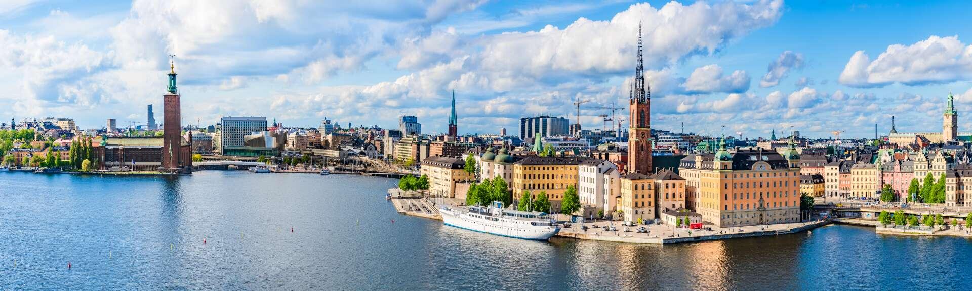 Klassenfahrt Stockholm Stadtansicht