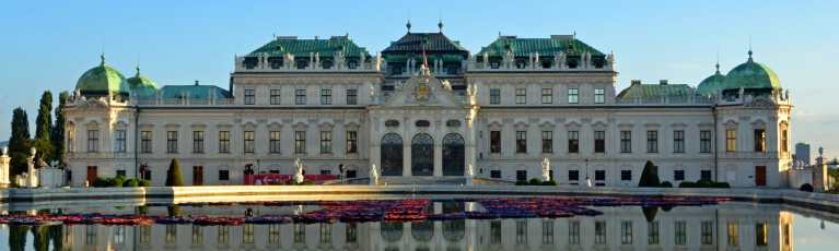 Klassenfahrt Wien Schloss Belvedere