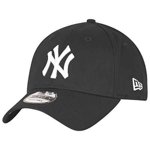 New Era New York Yankees MLB Black White 9Forty Adjustable Cap - One-Size