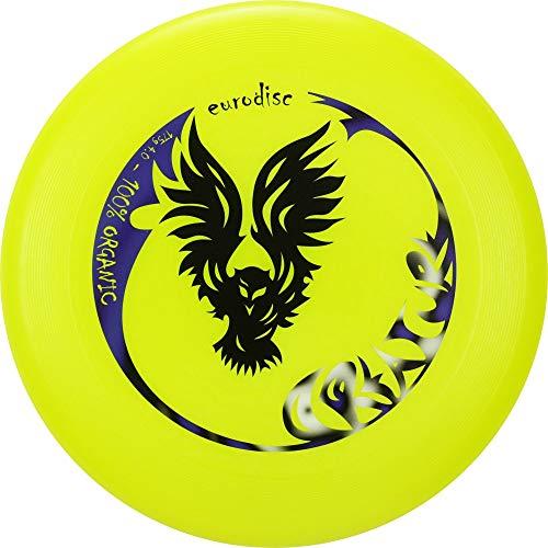 Eurodisc 175g 4.0 Organic Ultimate Frisbee Creature GELB Wettkampfhärte