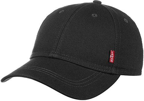 Levi's Herren Classic Twill Red Tab Baseball Cap, Schwarz (Black), One size