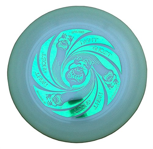Discraft Ultimate Frisbee Ultra Star 175g Night Ghost Night Glow nachtleuchtend (Grün)
