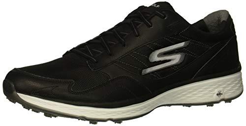 Skechers Fairway Plus Fit Golfschuhe für Herren, Schwarz (schwarz/weiß), 50 EU