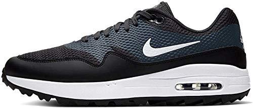 Nike Herren Air Max 1 G Golfschuh, Negro/Antracita/Blanco, 44.5 EU