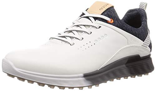 ECCO Herren M Golf S-Three 2020 Golfschuh, White, 41/41.5 EU