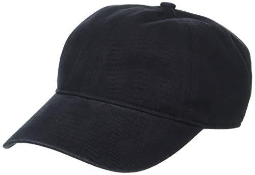 Amazon Essentials Baseball Cap Baseballkappe, Schwarz, One Size