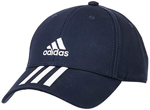 adidas Uni Bball 3S Cap CT Hat, Legend Ink White, OSFM