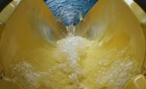Wasserrutsche Therme
