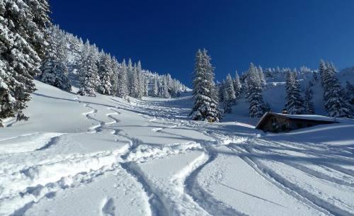 Skitouren südlich von München