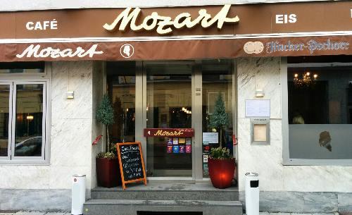 Kult-Cafes in München: Cafe Mozart