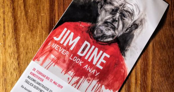 Jim Dine Never look away