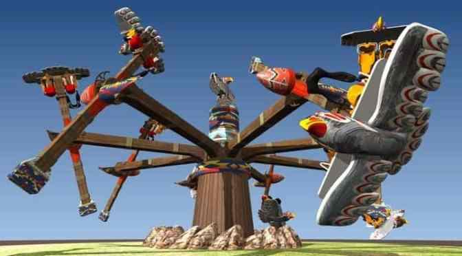 Die Thunderbirds  erobern das FORT FUN Abenteuerland