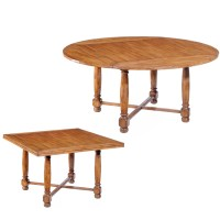 53954 Square to Round Table