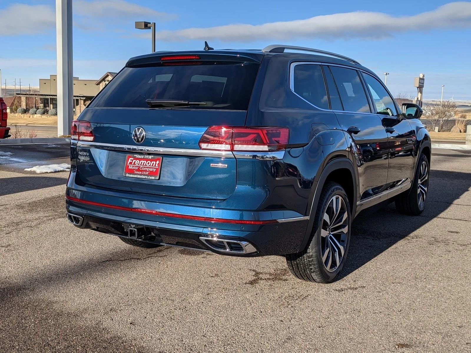 2021 5 volkswagen atlas 3 6l v6 sel premium r line 4