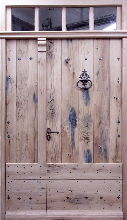 Double leaf Old Oak door Front doors  Portes Antiques
