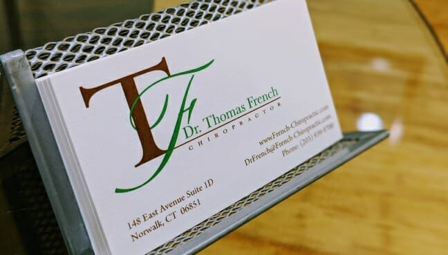 Norwalk Chiropractor  Thomas French DC  Back and Neck