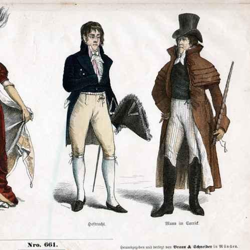 gravure sur bois 1870 costume francais mode francaise france 19eme siecle xixeme siecle