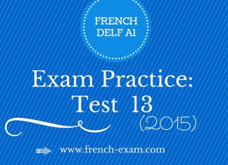 DELF A1 free Preparation Resources and Sample Papers - French Exam