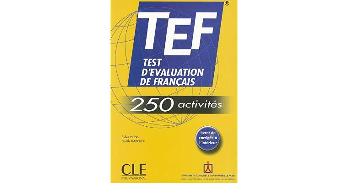 Best TEF exam preparation books with sample papers - French Exam