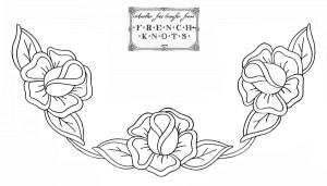free vintage rose embroidery patterns