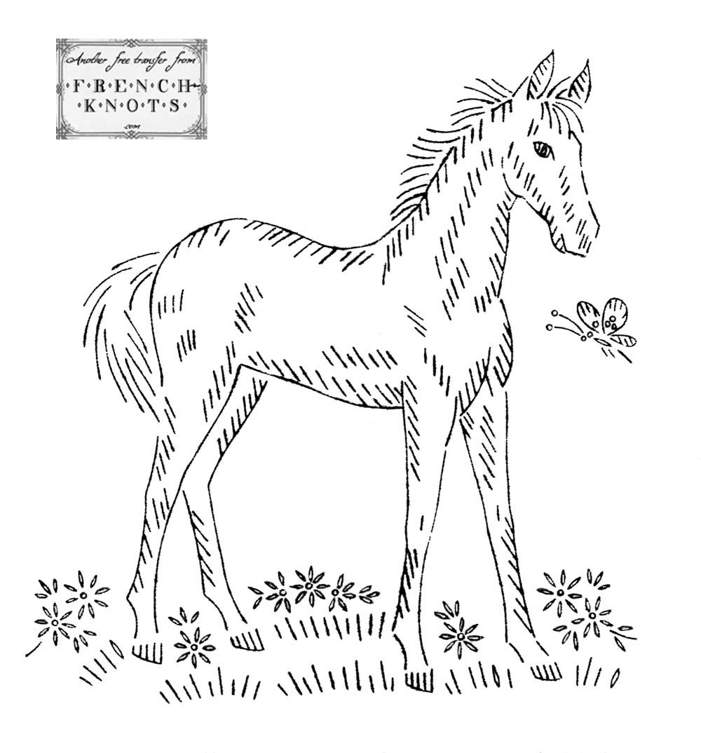 Horses – Embroidery Patterns