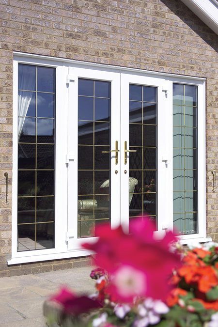 french patio doors secure