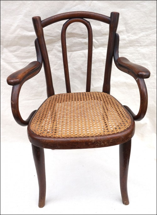 bentwood cane seat chairs dining chair covers pattern art nouveau child arm model 18 thonet