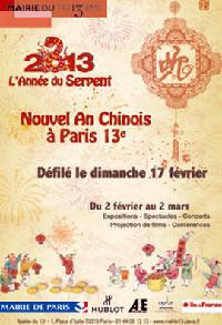 Nouvel An Chinois a Paris