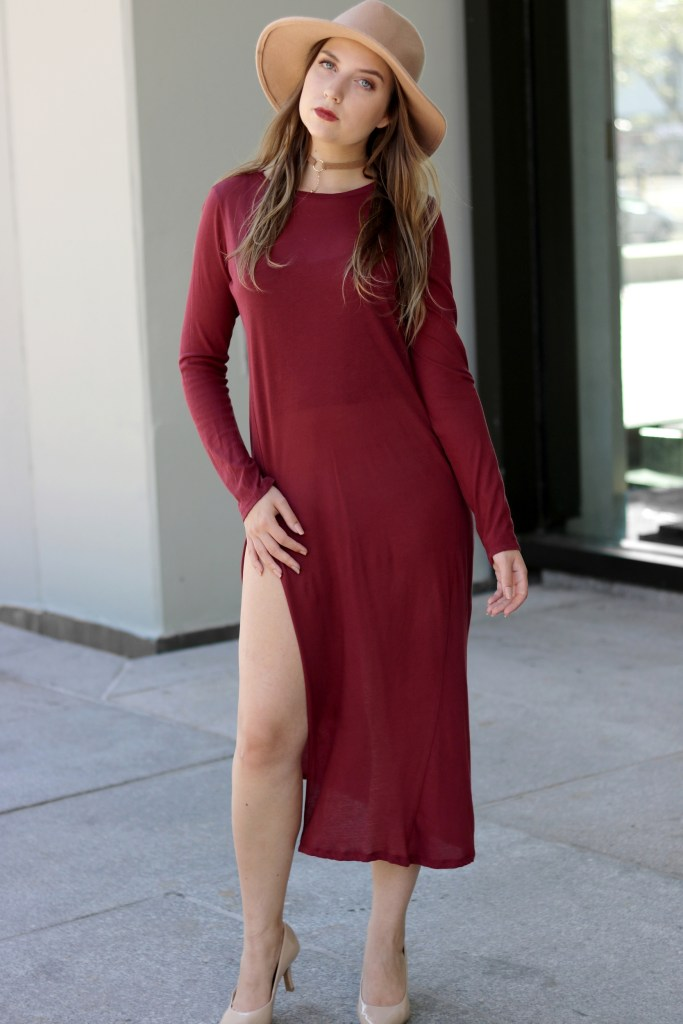 How to style burgundy color