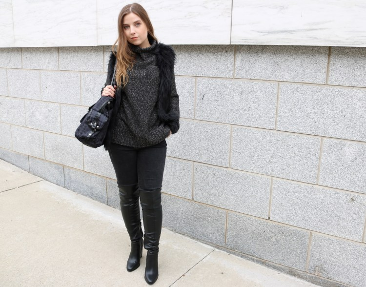 How to style black on black