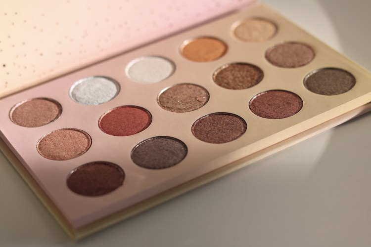 Colour Pop Golden State of Mind palette review