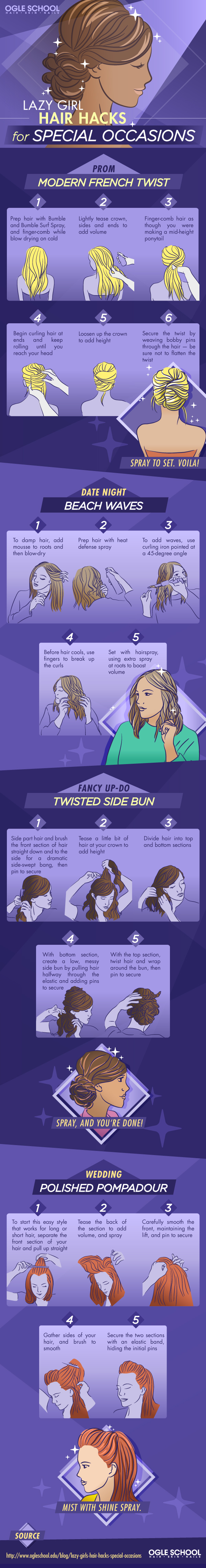 Lazy Girl Hair Hacks for Special Occasions_IG-1D