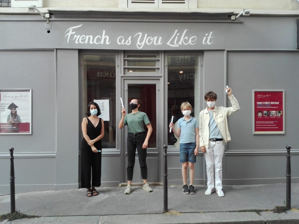 French As You Like It, French lessons in Paris