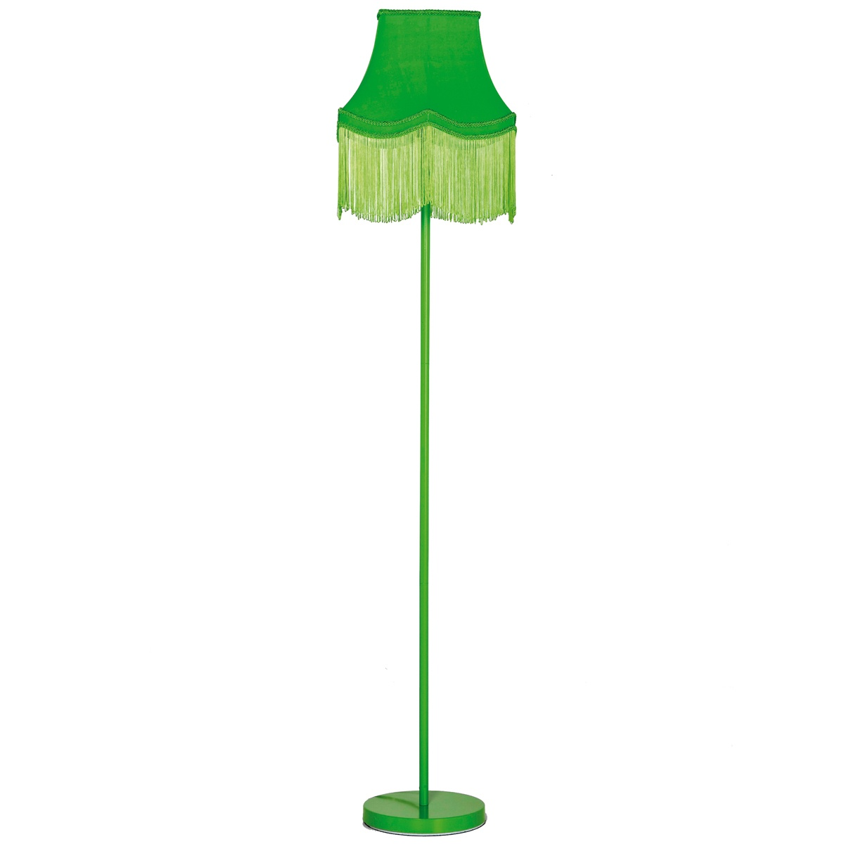 Fluoro Fringe Lime Green Floor Lamp French Bedroom Company