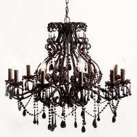 Sassy Boo Black French Chandelier, French Bedroom Company