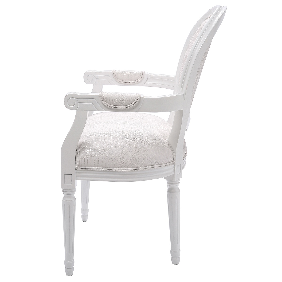 white chairs for bedroom grey office chair french carved and armchairs company