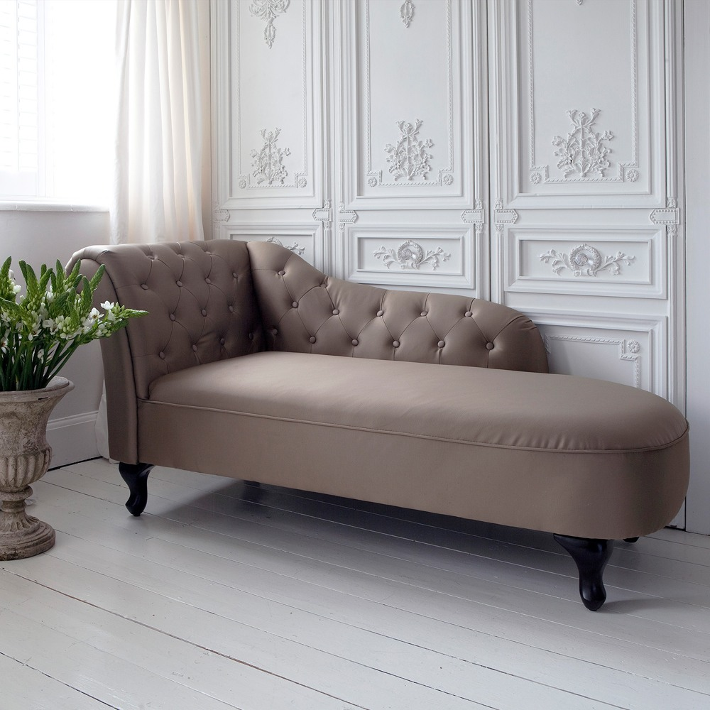 Indulge Satin Chaise Longue French Bedroom Company