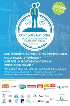 Le concours est organisé par Domolandes en partenariat avec EDF, Bouygues Construction, Icade, Léon Grosse, CGC, CIFE, Paris Ouest Construction, le département des Landes, la MACS et Le Moniteur