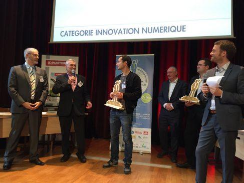 Kocklico,sytème de solutions connectées pour optimiser la performance énergétique des bâtiments a reçu le prix Innovation numérique du concours Domolandes 2017