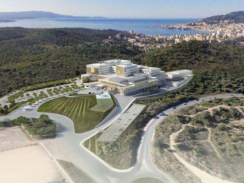Projet de l'hôpital d'Ajaccio