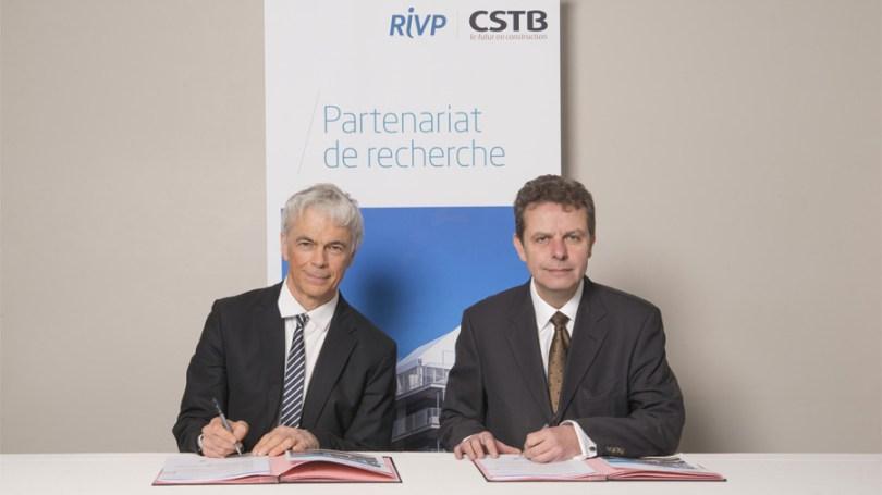 Partenariat R&D entre la Régie Immobilière de la Ville de Paris et le CSTB autour de 4 fondamentaux : Numérique, Énergie & Environnement, Santé et Confort